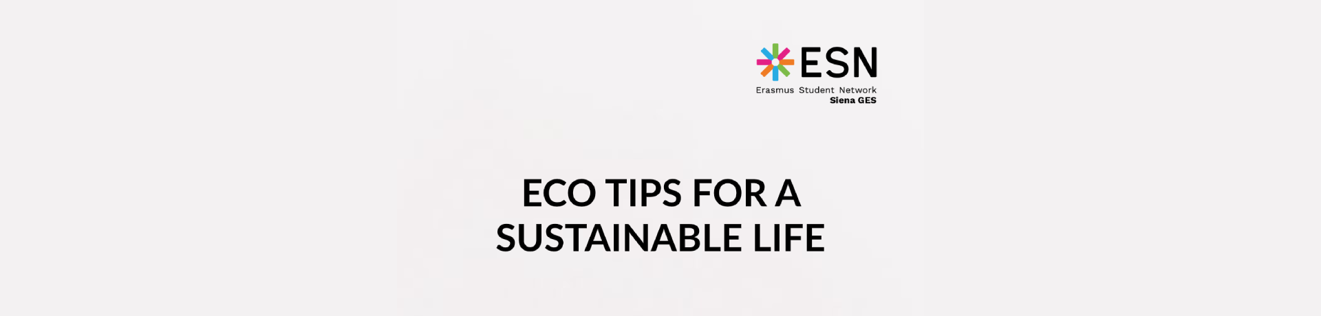 Eco Tips for a Sustainable Life