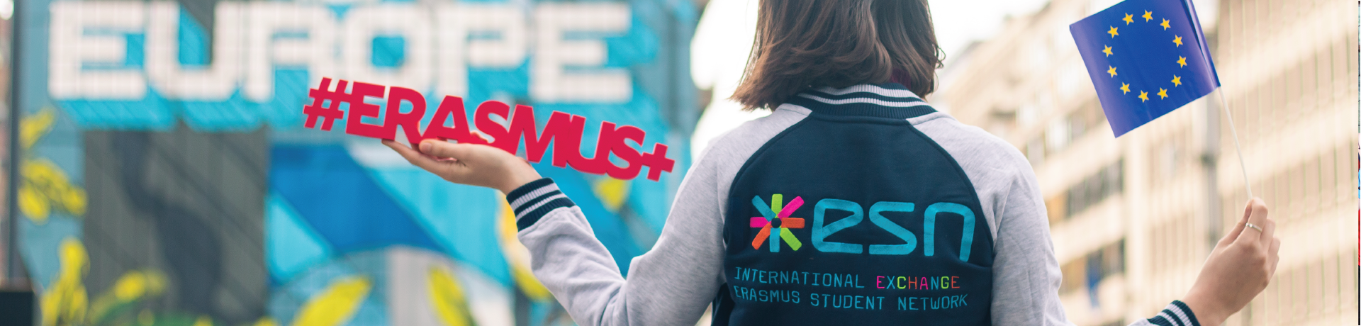 Volunteering promoting the Erasmus+ program