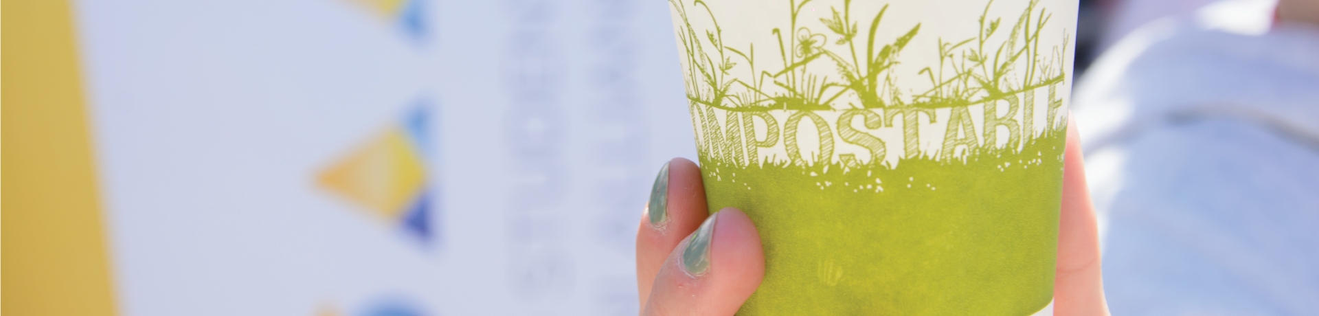 Image of a compostable cup